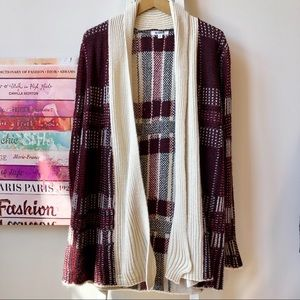 BB Dakota Bohemian Open Cardigan Small NWT